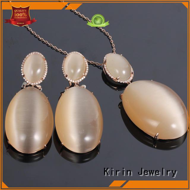 Kirin Jewelry Brand hotsale jewlery 925 sterling silver jewelry sets manufacture
