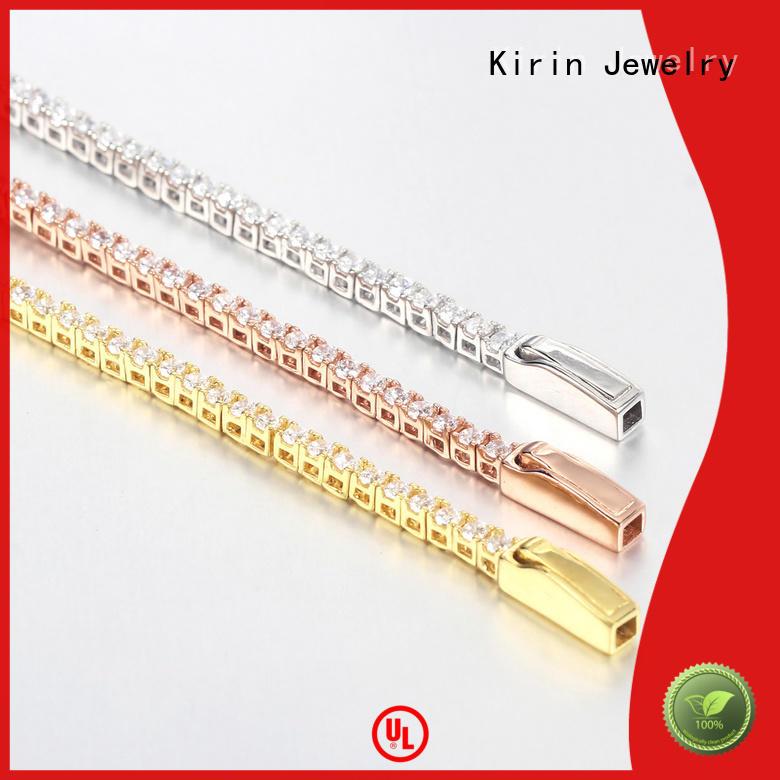 1pcs Women Tennis Bracelets Round Cubic Zirconia Charm Bangle Bracelet 62342