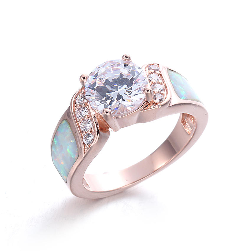 Best best sterling silver rings cz for business for family-1