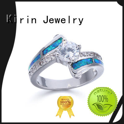 Kirin Jewelry reasonable 925 pure silver ring 17045 for mother