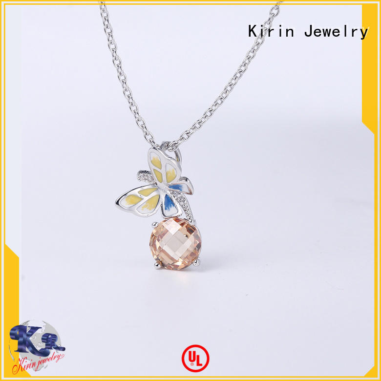Kirin earrings purple and silver jewelry sets with cheap price for woman
