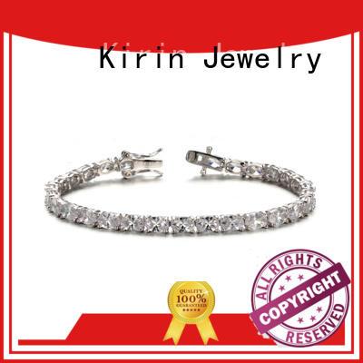Wholesale chain simple silver bracelet plating Kirin Jewelry Brand