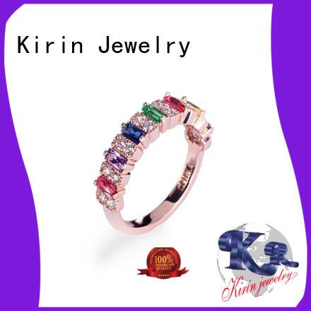 colourful jewellery oval genuine handmade Kirin Jewelry Brand company