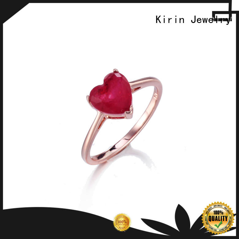 Kirin pear sterling silver cubic zirconia jewelry factory price for family