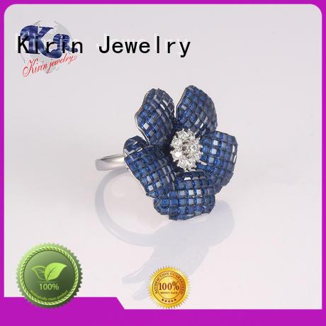top prong 925 sterling silver rings kirin Kirin Jewelry Brand company