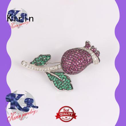 Kirin lovely sterling brooch for business for girlfriend