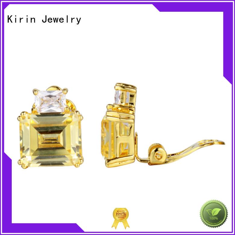Kirin Jewelry endless 925 sterling silver earrings bulk production for female