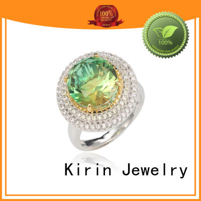 tone 925 sterling silver rings for women with good price for family Kirin Jewelry