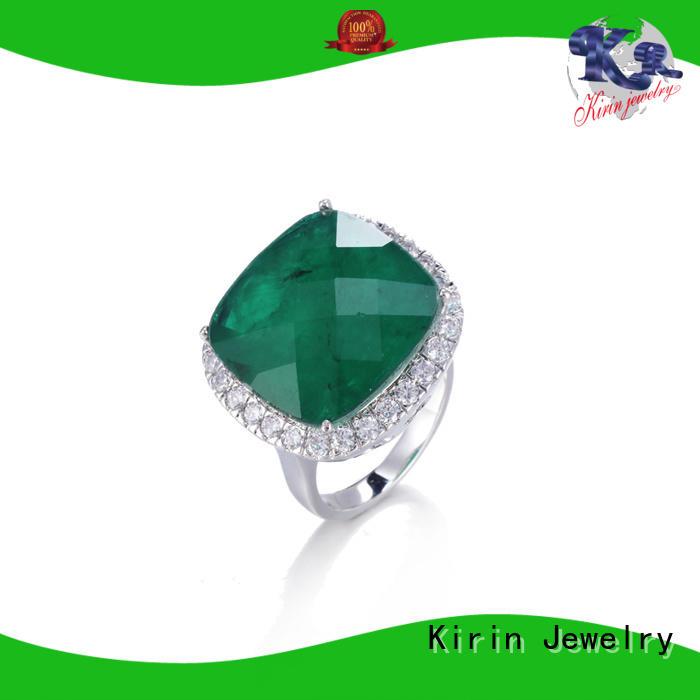 Kirin aaaaa ladies wide silver rings company for lover