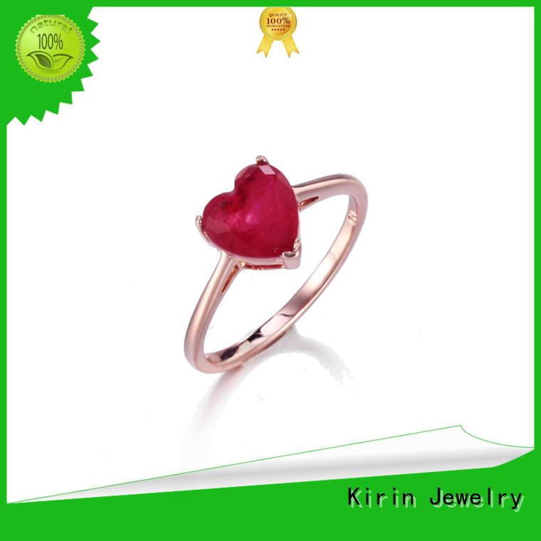 Kirin white silver womens ring factory price for partner