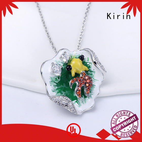 Kirin attractive ladies necklace and bracelet sets free design for partner