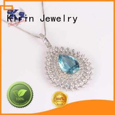 Custom bib big 925 sterling silver pendants Kirin Jewelry woman