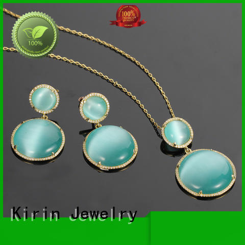 your heart jewellery 925 sterling silver jewelry sets Kirin Jewelry Brand company