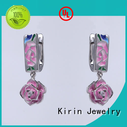 Kirin party purple and silver jewelry sets bulk production for girlfriend