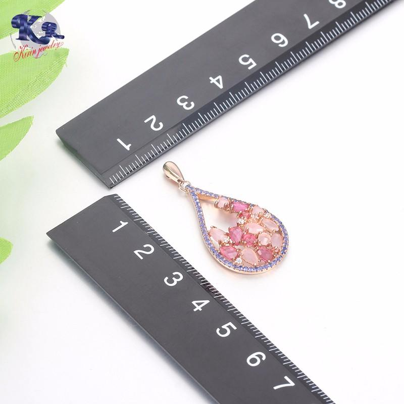 Kirin Jewelry -White Gold Jewelry Set, Kirin 925 Sterling Silver Elegance Jewelry Set-1