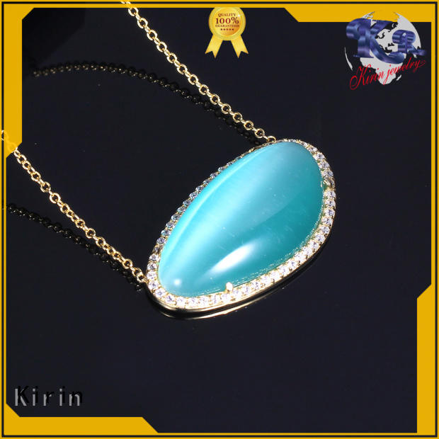 Kirin your diamond necklace and earring set free design for female