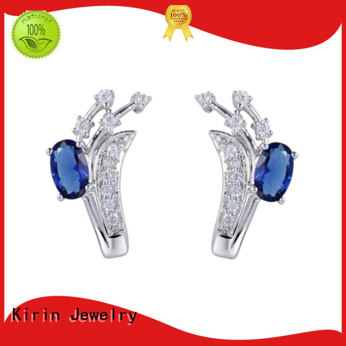 Kirin Jewelry fantastic solid silver earrings with cheap price for lover