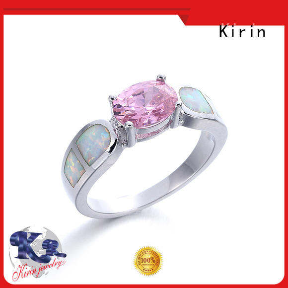 Kirin charming simple opal ring free quote for female
