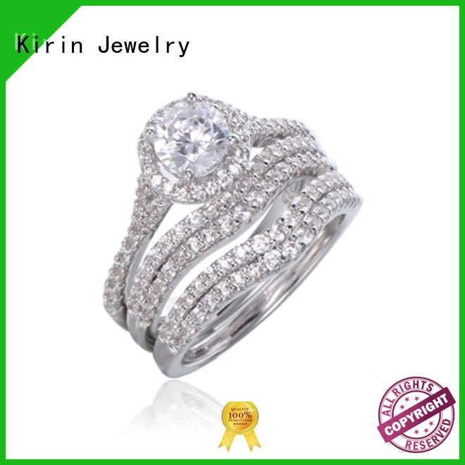 Custom simple silver rings for couples round at discount for mother