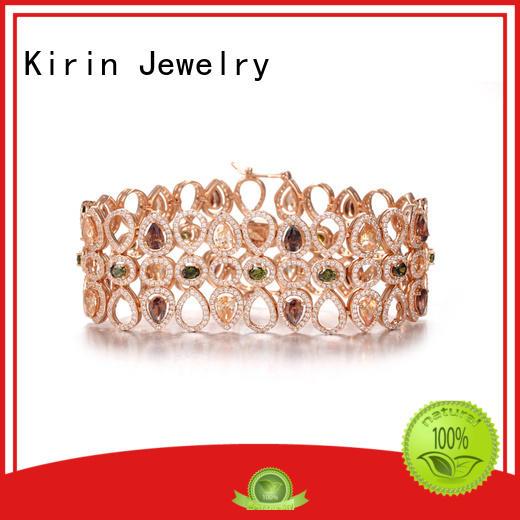 Kirin Jewelry Brand plated ideal simple silver bracelet end