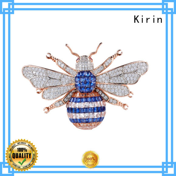 Kirin exquisite silver pin wholesale for mother