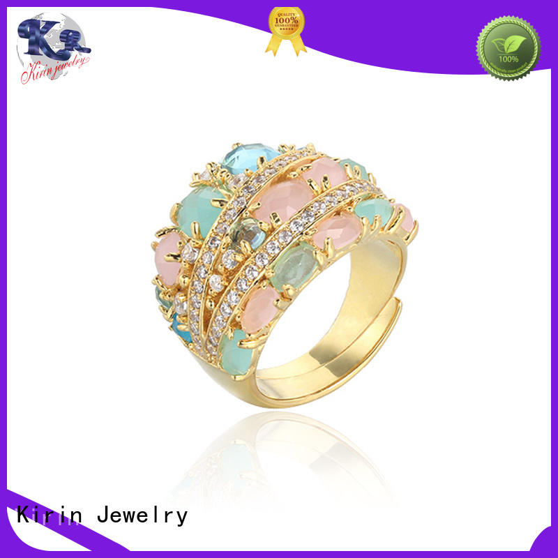 Kirin Jewelry good-package sterling silver ring set from China