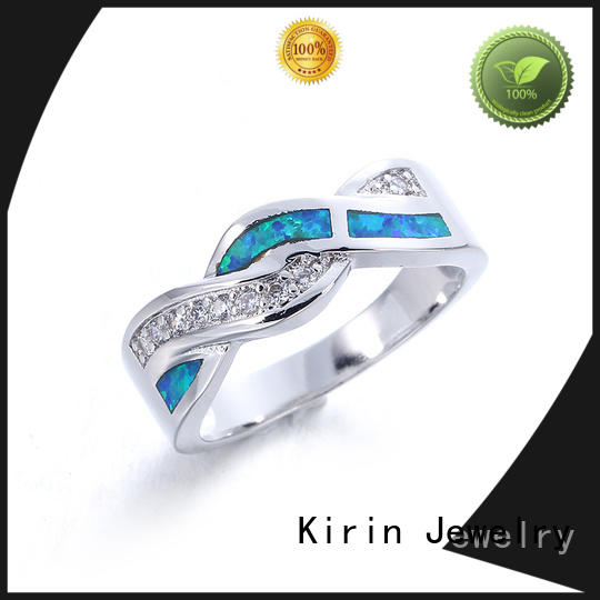 Kirin hot-sale long sterling silver rings factory price for mate