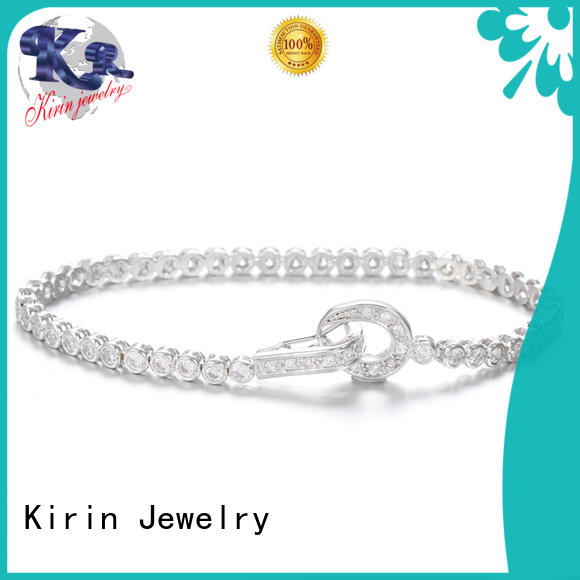 classical friend cubic 925 sterling silver bracelets Kirin Jewelry Brand company