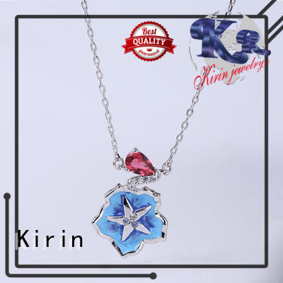 Kirin party cubic zirconia necklace and earring set free quote for lover