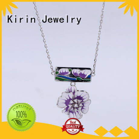 Kirin Jewelry heart silver bridal jewelry sets with cheap price for mate