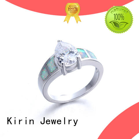 Kirin baguettecut silver band ring womens with good price for mate