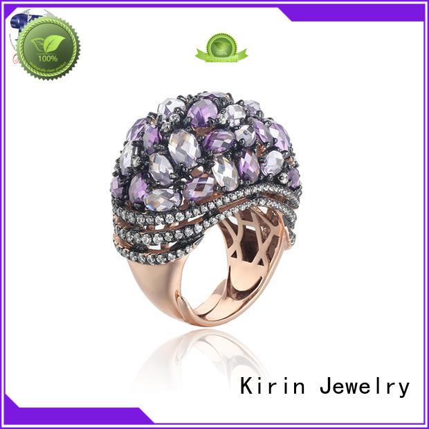 Custom kirin 925 sterling silver rings gold Kirin Jewelry