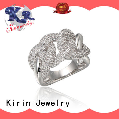 daily pave setting jewelry China manufacturer for girl Kirin