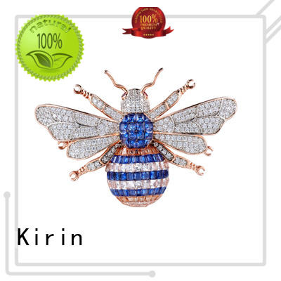 Kirin splendid cheap silver jewelry with many colors for woman