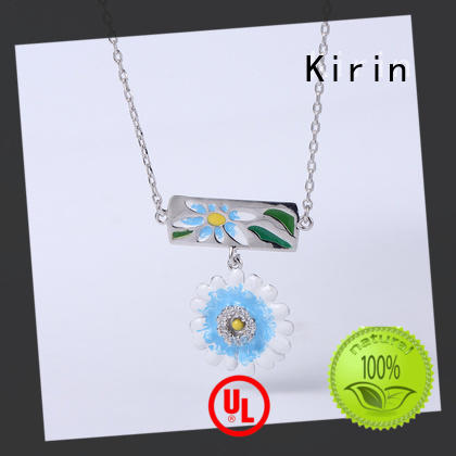 Kirin charming necklace and earring gift set customization for girlfriend