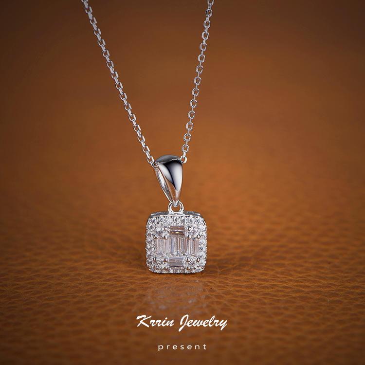 Professional ladies love a pendant designed for the square