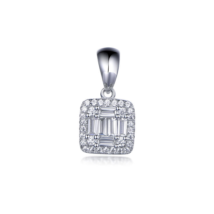 Professional ladies love a pendant designed for the square