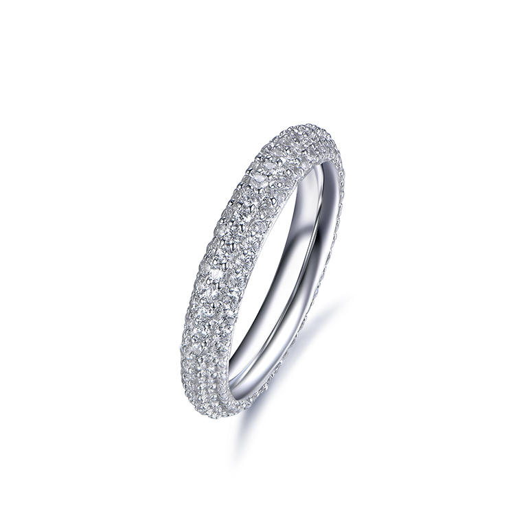 Hot Selling Fashion Jewelry Sterling Silver Simple Ring