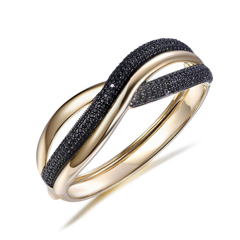 Luxury Bangle Braided Crown Bracelet factory price