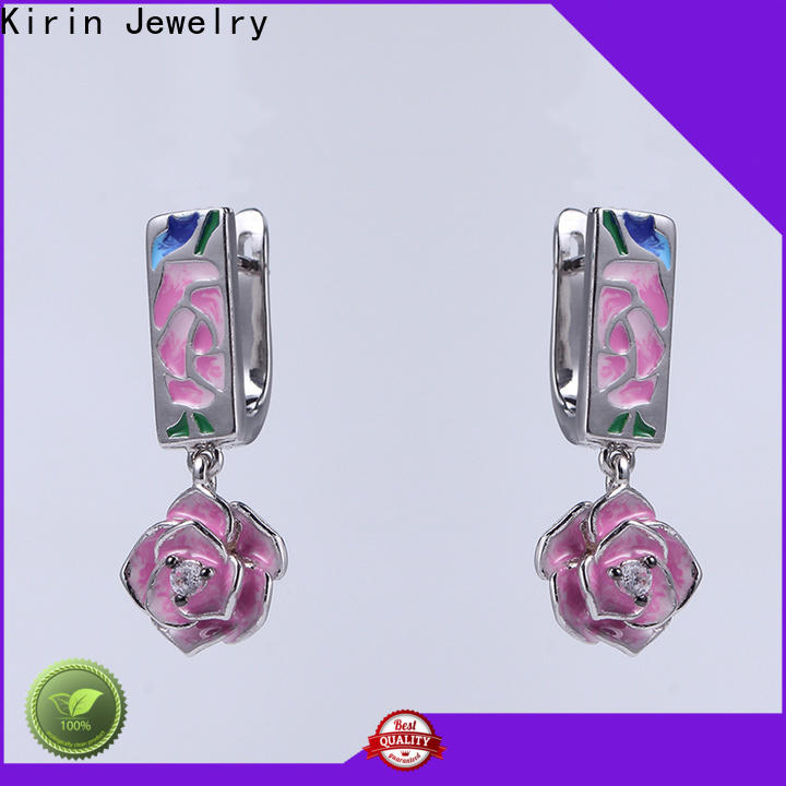 Kirin attractive earring and bracelet set manufacturers for woman
