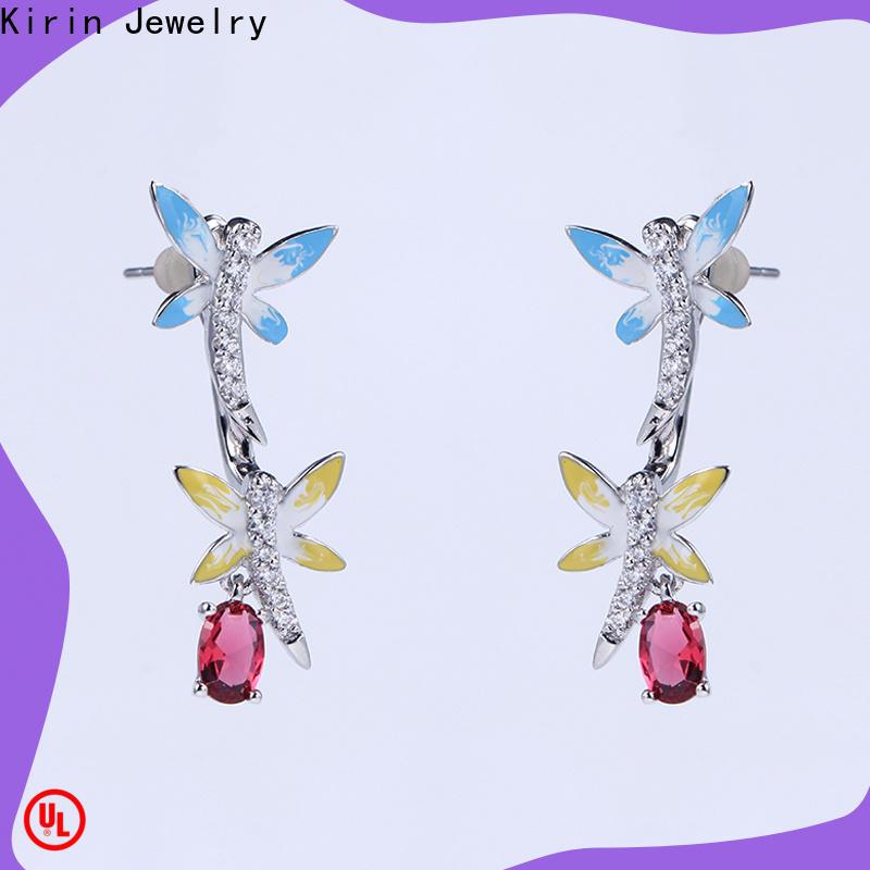 Kirin Custom ring and earring set factory for mother
