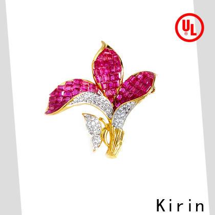 Kirin splendid sterling brooch pin supplier for lover