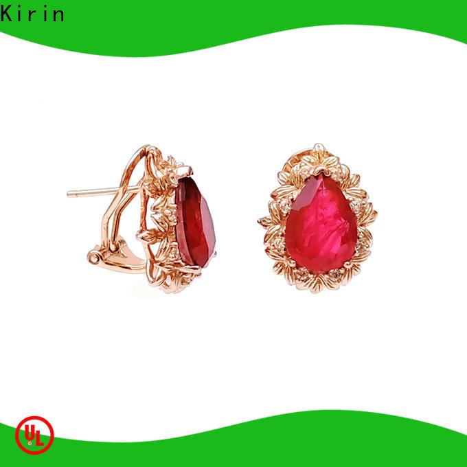 Kirin Top pretty stud earrings company for girl