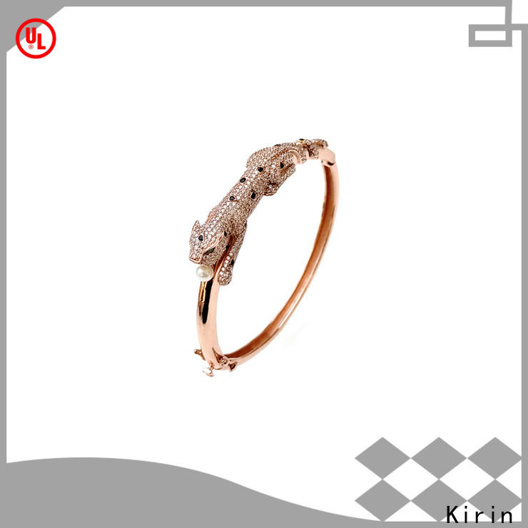 extravagant sterling silver butterfly bracelet zircon manufacturers for girlfriend