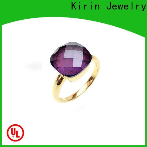 Kirin Best plain sterling silver rings for women manufacturers for lover