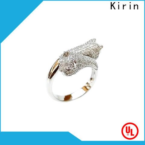Kirin promotion sterling silver dress rings factory price