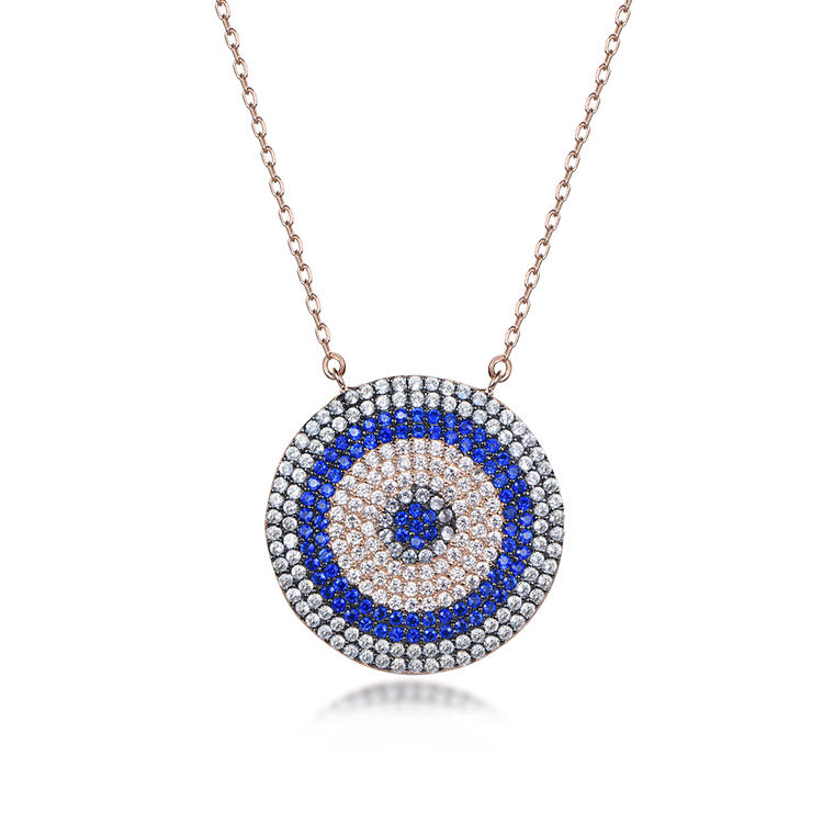 Creative Turkish Eye necklace with blue pendant necklace