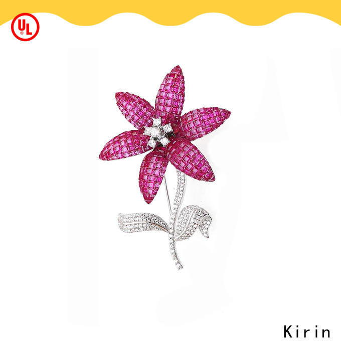 hot-sale silver brooches women China factory for female