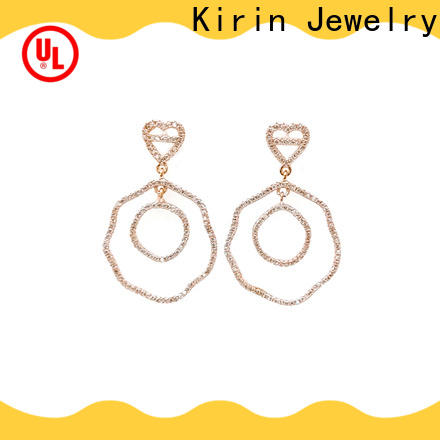 charming luxury earrings stud company for girl