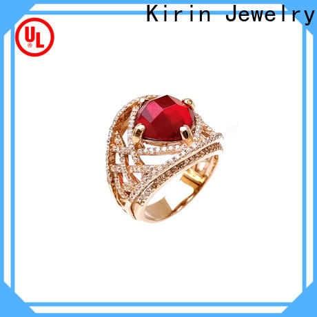 Kirin oval sterling silver wedding rings company for mate